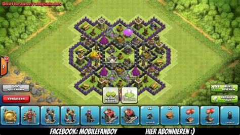hd town hall 7 coc rh 7 base