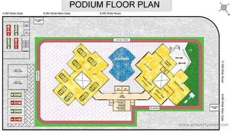 podium floor plan mk morya heights kharghar navi mumbai apartment