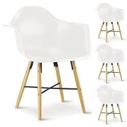 wei er speisesaal stuhl h llen 4er set esszimmerstuhl design konferenzstuhl emilio aus