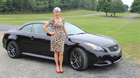 infiniti ipl  convertible test drive car review