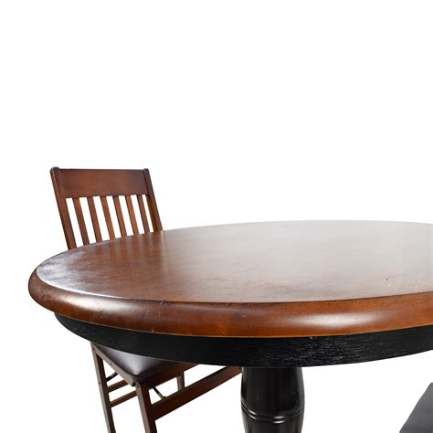 Keeran Bistro Table Black Triangle Dining Table Pub Dining Table Set Stunning Rooms To Go Dining Room Furniture