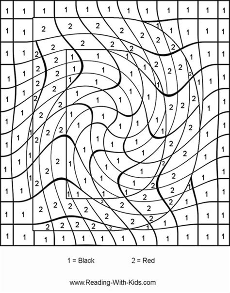 pages by number free coloring pages of difficult color by number