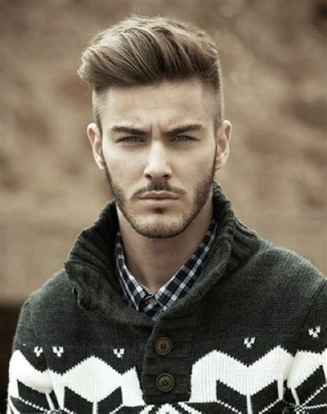 longer on the top and shorter on the bottom hairstyles mens haircut short on sides longer on top hairs picture