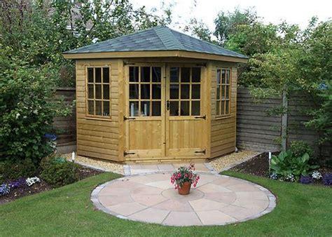 corner summer house summer house garden outdoor garden sheds