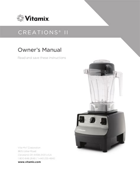 Blender Manual Blender Manual free pdf for vitamix professional 200 blender manual