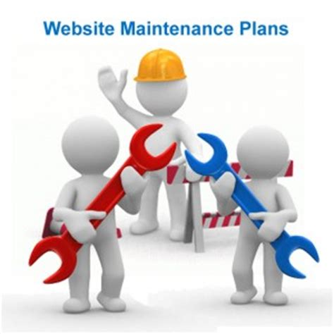 Possible Time Site Maintenance by Website Maintenance Plans