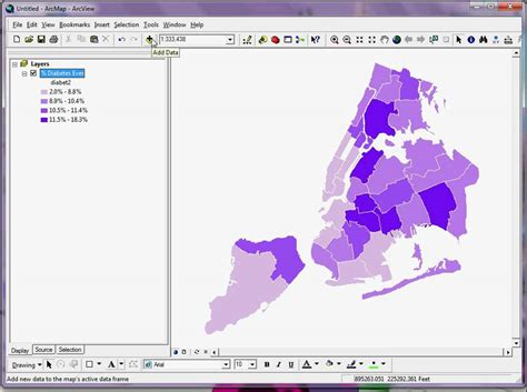 arcgis tutorial for health how to create thematic choropleth maps in arcgis part i