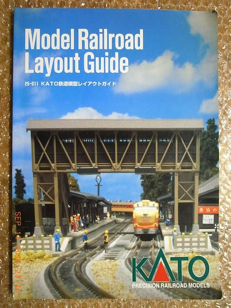 kato unitrack layout guide book kato official model railroad layout guide book 25 011
