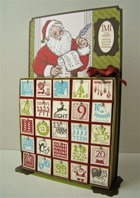how to make an advent calendar box qbee s quest inch box advent calendar tutorial
