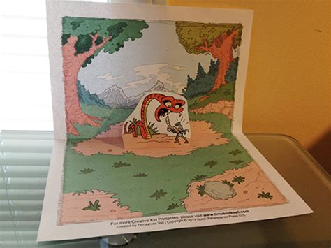 make your own pop up card template tim de vall comics printables for