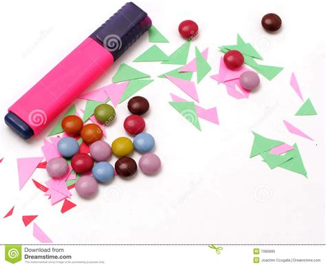 colorful office supplies royalty free stock image image colorful office royalty free stock photo image 7066895