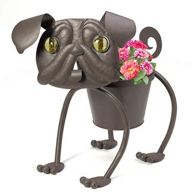 pug planter heddy the pug planter only 36 99 at garden