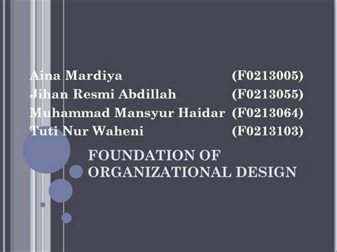 desain dan struktur organisasi ppt struktur dan desain organisasi authorstream