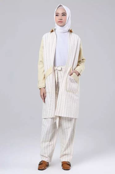 Baju Cantik Elegan tilan gaya busana ngantor hijabers paling cantik elegan baju muslim terbaru