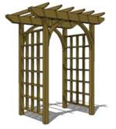 free trellis plans free trellis arbor woodworking plans and information at