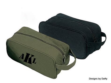 mens personalized toiletry travel kit bags