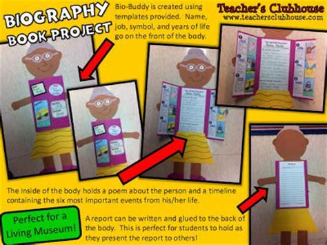 biography ideas for 5th graders book project ideas for 5th graders exle of amazon