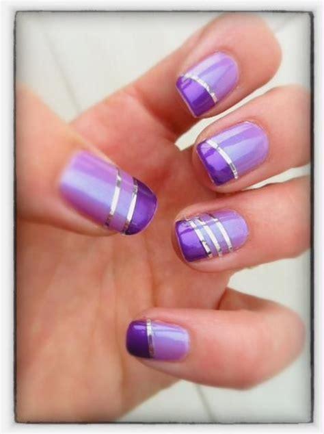 check   incredibly gorgeous purple nail designs
