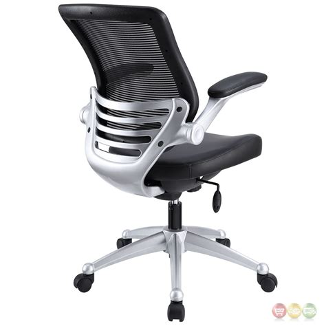 ergonomic leather adjustable office chair edge modern adjustable ergonomic leather office chair w
