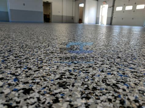 epoxy flake flooring columbus ohio premier concrete coatings