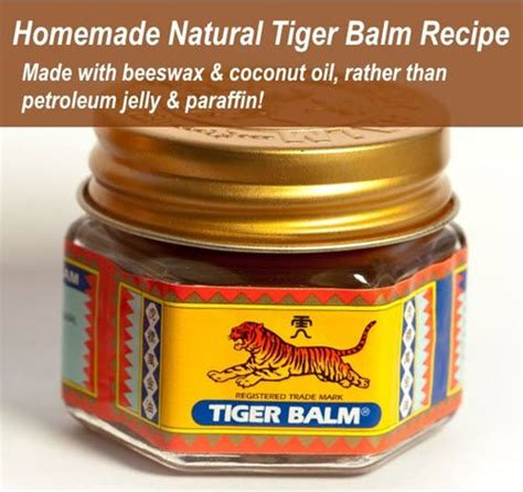 better than tiger balm best 25 chest rub ideas on vicks rub chest