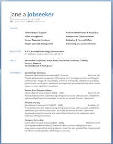 It Professional Resume Templates In Word by Free Professional Resume Templates Resume Downloads