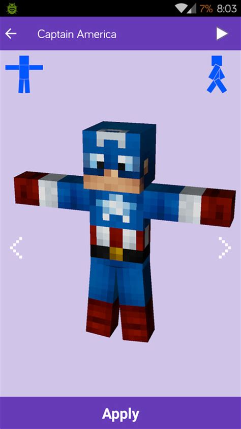 minecraft for android free skins for minecraft mineskins apk free tools android app appraw