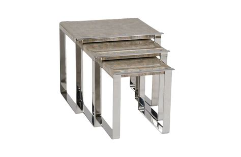 of pearl table l of pearl nesting tables lorin marsh furniture