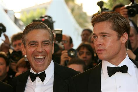Brad Pitt George Clooney Do Entertainment Weekly by 301 Moved Permanently