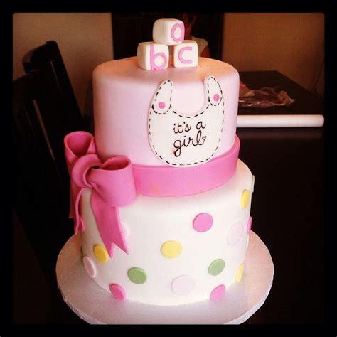 baby girl cakes ideas  pinterest baby shower cake  girls baby shower treats