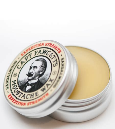 Pomade Ekstra Hold captain fawcett moustache wax expedition strenght 15ml