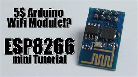 arduino wifi module esp mini tutorialreview
