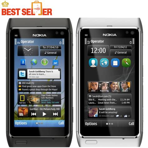 nokia n8 mobile phone n8 original nokia n8 mobile phone 3 5 quot touch screen 3g gps