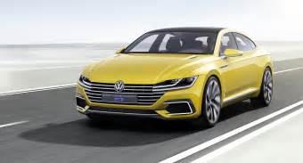 volkswagen 2016 sport coupe concept gte geneva show vw