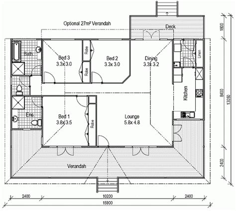 Floor Plans Queenslander Style Homes House Design Plans Queenslander House Plans