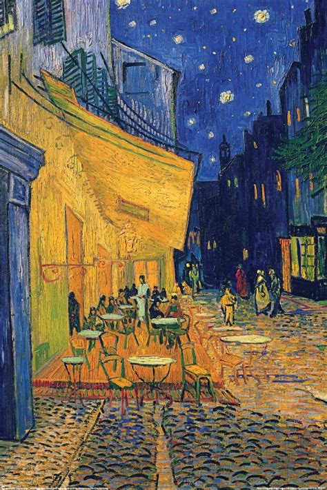 vincent van gogh caf 233 terrace poster sold at abposters com