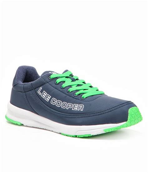 leecooper sports shoes cooper sports distinct blue shoes price in india buy