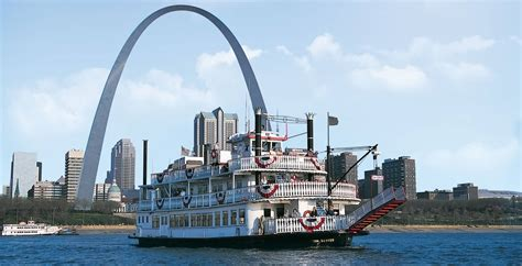 mississippi river boat cruise st louis 51most beautiful gateway arch monument pictures and images