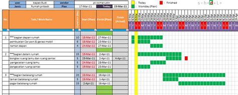 belajar membuat program akuntansi dengan ms excel tulisan aku dan kamu membuat schedule pekerjaan dengan ms