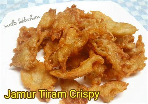 resep jamur tiram crispy oleh melz kitchen cookpad