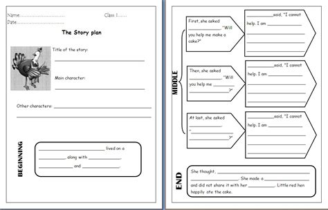 The Hen Worksheets Free by Teachingisfun Comprehension Worksheet For Hen