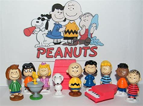Peanuts Snoopy Baby Figure peanuts classic characters figure set of 13 with