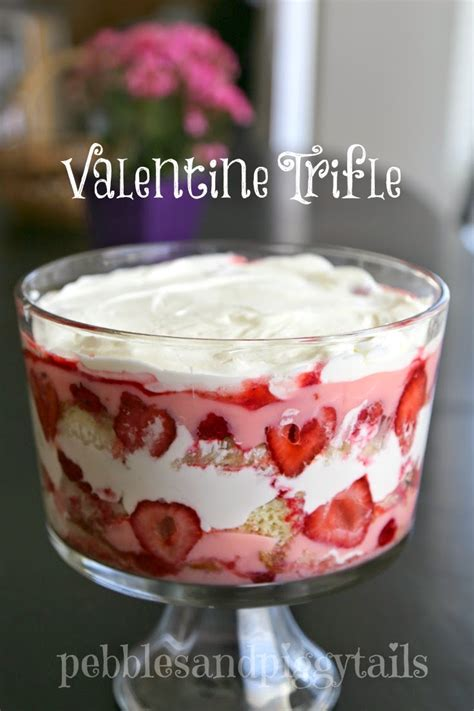 easy valentines desserts easy trifle dessert blissful