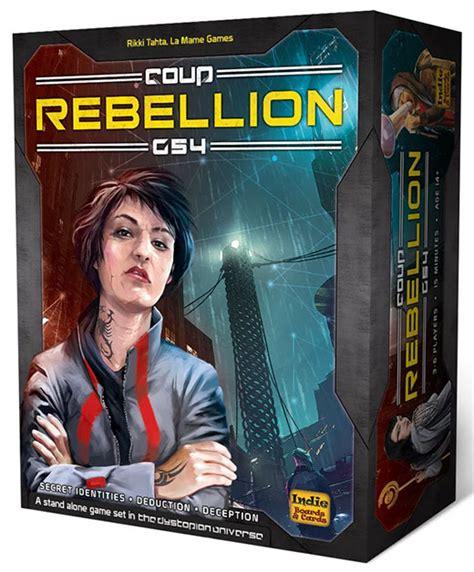 Coup Rebellion G54 Card Board coup rebellion g54 otra versi 243 n de board cards