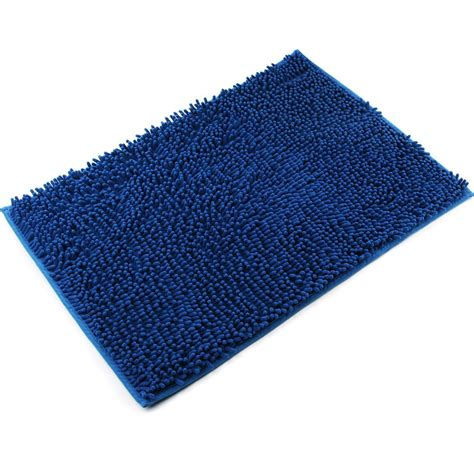 Bathroom Mats And Rugs Vdomus Non Slip Bath Mat Microfiber Bathroom Mats Shower Rugs 20 Quot 32 Quot Blue Ebay