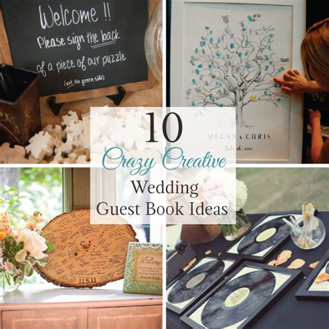 10 creative wedding guest book ideas linentablecloth