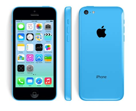 apple iphone 5c 16gb 4g lte blue smart phone sprint
