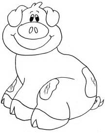 pig coloring page pig coloring pages for az coloring pages