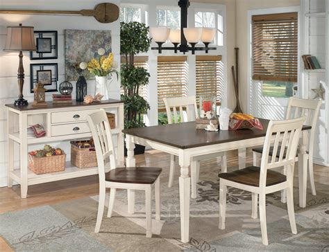 furniture whitesburg dining table whitesburg rectangular dining room set from d583