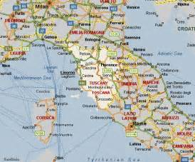Map Of Tuscany Italy by Road Maps Tuscany Route Planner City Maps Travel